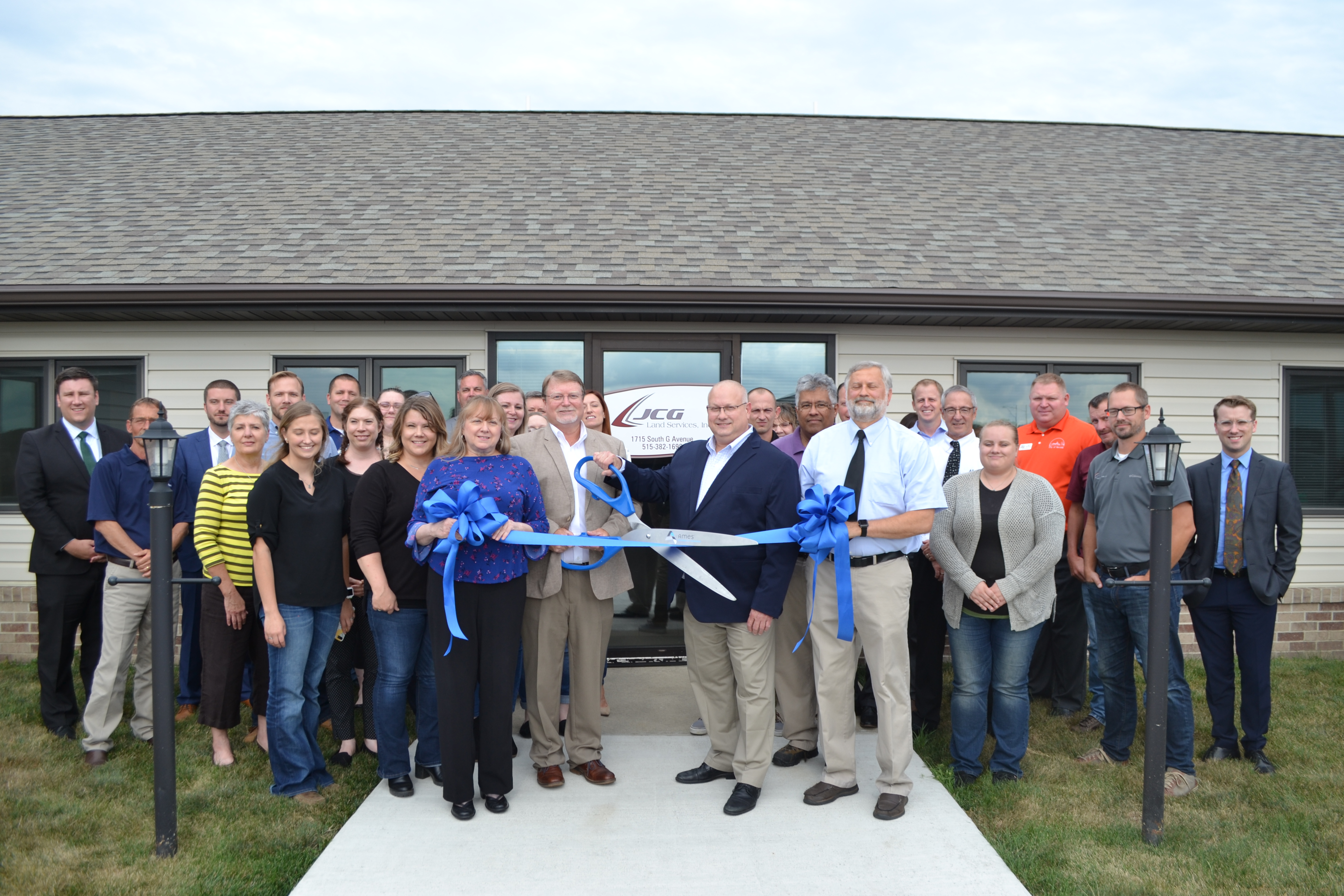 View post titled Ribbon Cutting Feature: JCG Land Services